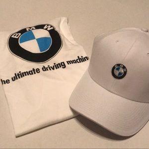 Men's White shirt & cap